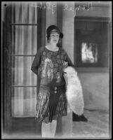 Hazel Glab, on trial for murder of husband, Los Angeles, 1936