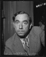 Lazar Wechsler talks international affairs, Los Angeles, 1935
