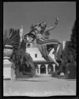 Dancer at the California Pacific International Exposition, San Diego, 1935