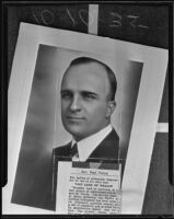 Rev. Paul L. Young moves to California, Los Angeles County, 1935