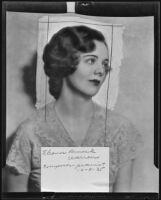 Elinor Remick Warren is to appear in the Three Arts Club program, Anaheim, 1935