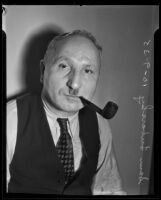 Sam Lubarsky charged for assault with a deadly weapon, Los Angeles, 1935