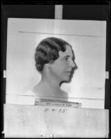 Theresa Paist, national head of Y. W. C. A. (copy), Los Angeles, 1935