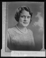 Lucy Kyriss, conference chairman of International Zonta Clubs (copy), Los Angeles, 1935