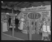 National Biscuit Company display at the Food and Household Show, Los Angeles, 1935