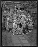 Children at a Halloween Party, Los Angeles, 1935