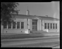A safer 49th street school building, Los Angeles County, 1935