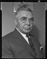 William A. Irvin, fourth president of U.S. Steel, visiting Los Angeles, Los Angeles, 1935
