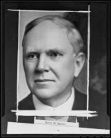 Harry M. Shafer dies at 68, Los Angeles, 1935