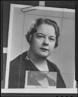Mary Stanton is elected to higher position in the social worker community, Los Angeles, 1935