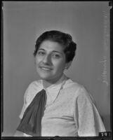 Mañya Cañtorovich, Los Angeles, 1935