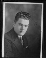 William Edward Hickman is being persued, Los Angeles, 1927