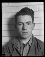 Mug shot of kidnapper William Edward Hickman, Los Angeles, 1927
