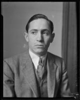 Portrait of Mexican Consul Ricardo G. Hill, Los Angeles, 1935-1947