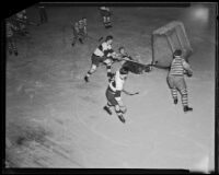 Ice hockey game between Hollywood and Los Angeles Athletic Clubs, Los Angeles, 1925