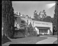 Hollywood Wedding Chapel at the home of Kathryn Baird Sullivan, Hollywood, circa 1931