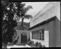 Hollywood Wedding Chapel at the home of Kathryn Baird Sullivan, Hollywood, 1931