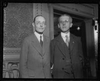 Moses H. Grossman and Harry A. Hollzer, circa 1926