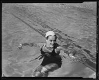 Olympic gold medalist Eleanor Holm, 1932