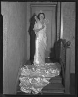 Helen Holman, Queen at Festival of Pacific Coast Slavic athletic club, Los Angeles, 1932