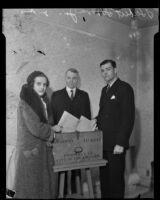 Herbert Hoover Jr. and wife Margaret Eva, Los Angeles, circa 1930-1939