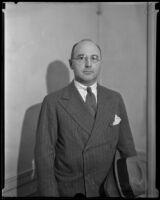 Dana Hogan, former president of Hogan Petroleum Company, Los Angeles, between 1940-1845