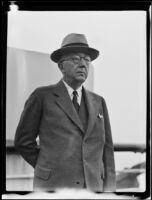 Portrait of Alanson B. Houghton, former American ambassador, Los Angeles, 1935