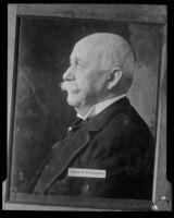 Profile portrait of Henry E. Huntington, 1927