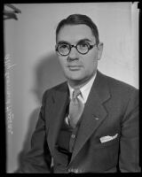 Leonard Huser, LA Deputy City Attorney, Los Angeles, 1935