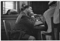 David Hutton in divorce proceedings, Los Angeles, 1933