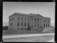 Inyo County Courthouse, Independence, [1923-1939]