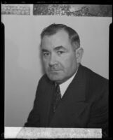"File photo of Detective Lieutenant Frank ""Lefty"" James, Los Angeles, 1939?"