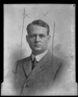 Portrait photograph of Judge William P. James, Los Angeles, 1910