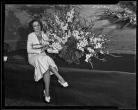 Actress Alice Jans, Los Angeles, 1933