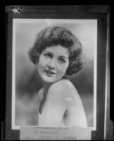 Actress Merna Kennedy in a publicity still [rephotographed], Los Angeles, 1926