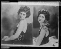 Actress Merna Kennedy in publicity stills [rephotographed], Los Angeles, 1926