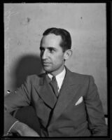 "File photo of Francis Read ""Speed"" Kendall, Times Reporter, Los Angeles, 1928-1939"