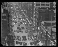 City Hall dedication parade, Los Angeles, 1928