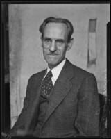 Los Angeles Times editorial writer, Harry Bowling, Los Angeles, [1920-1939]