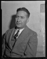 Los Angeles Times night managing editor, Earl Craven, Los Angeles, 1923-1939