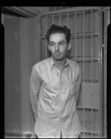 Suspected robber Charles Henderson, Los Angeles, 1935