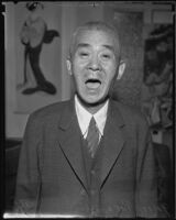 Yataro Takahashi, Old-Time resident, Los Angeles, 1935