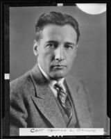 Howard L. Barlow, L.A.P.D acting Deputy Chief Of Police, Los Angeles, 1935
