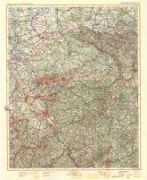 Vogels Karte von Mitteleuropa