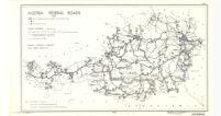 Austria : Federal roads 1937