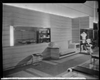 Interior view of The Bachelors haberdashery designed by Julius Ralph Davidson, Los Angeles, circa 1929