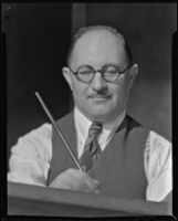 Jacob Asanger, artist, Los Angeles, 1930-1941