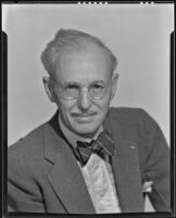 Dr. Dain Tasker, radiologist who created floral x-ray photography, Los Angeles, 1936-1939