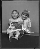 Mariska and Ferenc Geritz, Los Angeles, 1930
