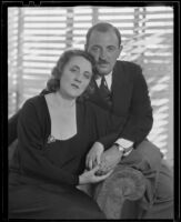 Raymond Griffith with his wife Bertha Mann, Los Angeles, 1933-1934